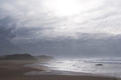 Mare e nubi Fotografia Stock