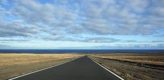 Mare e nuvole a grande Canaria Fotografia Stock Libera da Diritti