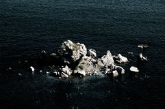 Mare e pietre Immagine Stock Libera da Diritti