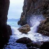 Mare e roccia Immagine Stock