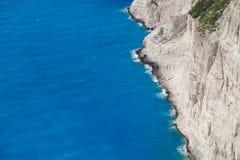 Mare e roccia Fotografia Stock Libera da Diritti