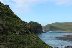 Mare e roccia Fotografie Stock
