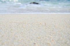 Mare e spiaggia sull'isola Fotografie Stock Libere da Diritti