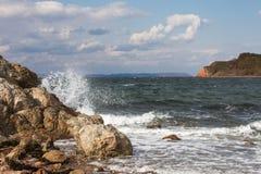 Mare ed oceano Fotografie Stock