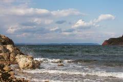 Mare ed oceano Fotografia Stock