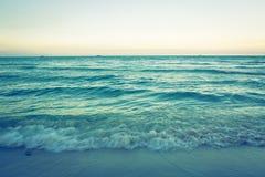 Mare (effetto d'annata elaborato immagine filtrato ) immagini stock