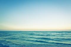 Mare (effetto d'annata elaborato immagine filtrato ) fotografie stock libere da diritti