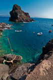 Mare in Grecia Fotografia Stock Libera da Diritti