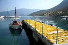 Mare greco Immagine Stock