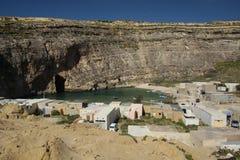 Mare interno, Gozo, Malta Immagini Stock