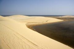 Mare interno, Qatar fotografie stock