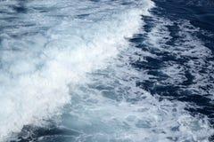 Mare ionico spumoso immagine stock
