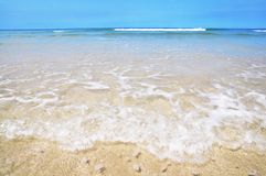 Mare libero e bella spiaggia Fotografia Stock