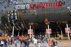 Mare Magnum shopping centre stock photos