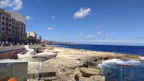 Mare Malta immagine stock