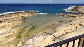 Mare Malta fotografia stock