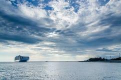 Mare in molo di Kaohsiung Immagini Stock Libere da Diritti