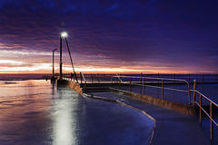 Mare Mona Vale Pool Blue Rise Immagine Stock
