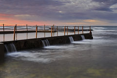 Mare Mona Vale Pool Corner Fotografia Stock