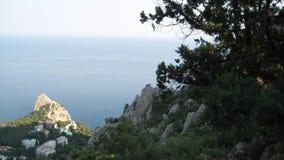 Mare, montagne immagini stock libere da diritti