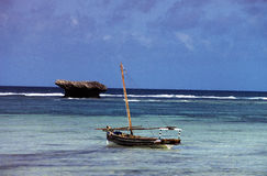 Mare nel Kenia fotografia stock