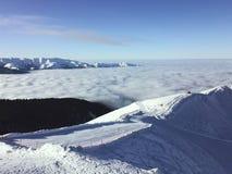 Mare nuvoloso Fotografie Stock