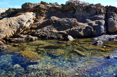 Mare pittoresco Fotografia Stock