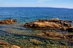 Mare pittoresco Fotografie Stock