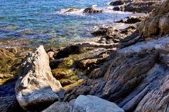 Mare pittoresco Immagine Stock