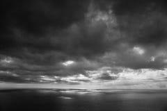 Mare prima della tempesta Fotografie Stock Libere da Diritti