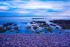 Mare, rocce, rottingdean, Brighton immagini stock libere da diritti