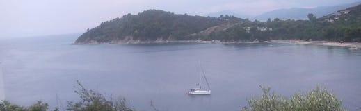 Mare a Samos Fotografie Stock Libere da Diritti
