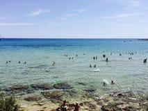 Mare Sicilia fotografie stock libere da diritti
