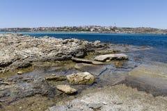 Mare siciliano Fotografie Stock