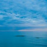 Mare silenzioso Fotografie Stock