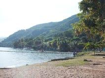 Mare, spiaggia, Costa Del Mar Immagine Stock