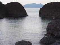 Mare sulla spiaggia Immagine Stock