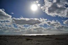 Mare, Sun, spiaggia - vita in Florida immagine stock