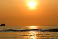 Mare in Tailandia Fotografia Stock