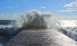 Mare tempestoso Fotografia Stock