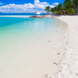 Mare tropicale di giorno Fotografia Stock