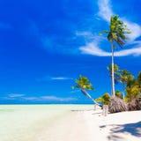 Mare tropicale di giorno Immagini Stock