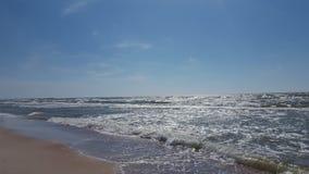 Mare ventoso Immagine Stock
