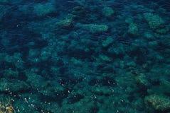 Mare verde Fotografie Stock Libere da Diritti