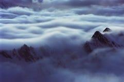 Marea alpina Immagine Stock