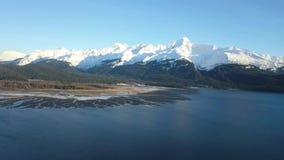 Marea baja en Alaska almacen de video