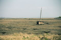 Marea bassa Fotografia Stock