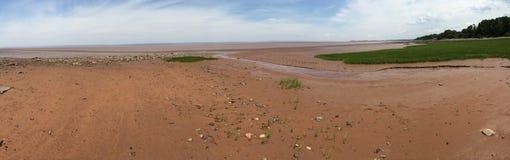 Marea bassa Immagini Stock