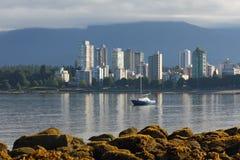 Marea bassa della baia inglese, Vancouver Fotografia Stock Libera da Diritti