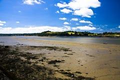 Marea bassa a Instow Immagini Stock